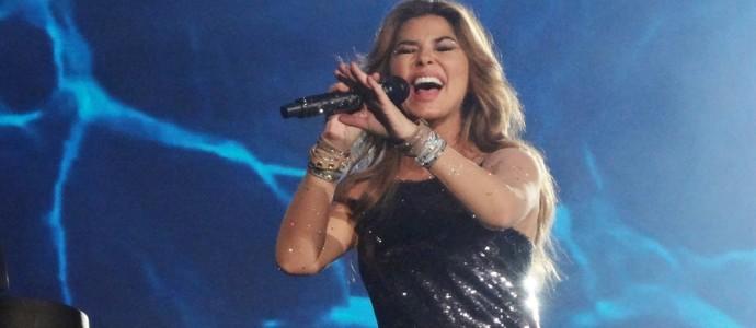 #ShaniaemBarretos: Shania Twain sacode a arena da Festa do Peão
