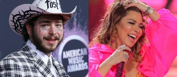 Post Malone fala sobre possível cover de Shania Twain