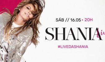 #LivedaShania: Saiba tudo sobre o evento online