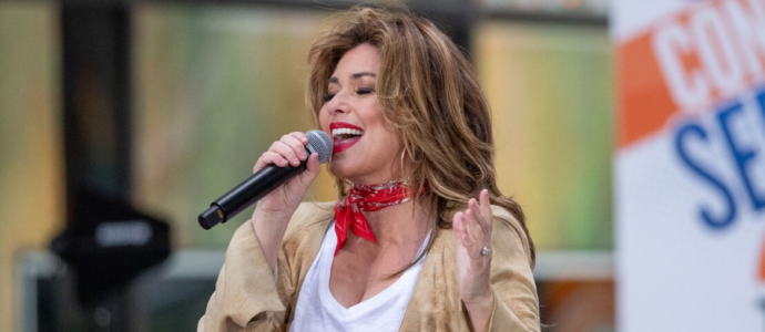 Shania Twain é anunciada como performer do GMA's Summer Concert Series