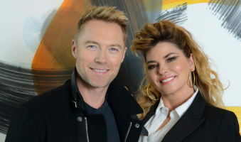"Ouça ""Forever And Ever, Amen"", dueto de Shania Twain e Ronan Keating"